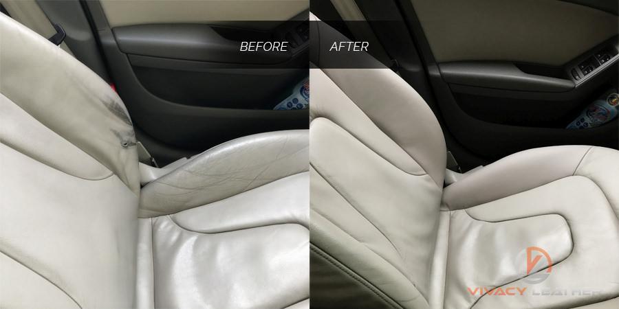 reparatii piele auto audi a4